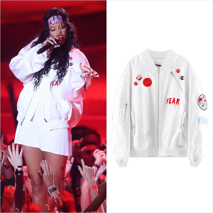 『Rihanna x HYEIN SEO』、NBAオールスターゲームでコレクションルックスタイルで登場