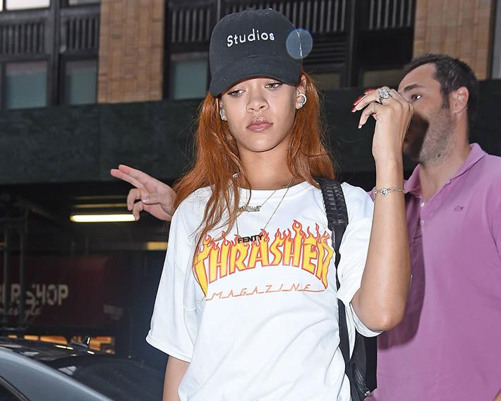 Rihanna x THRASHER