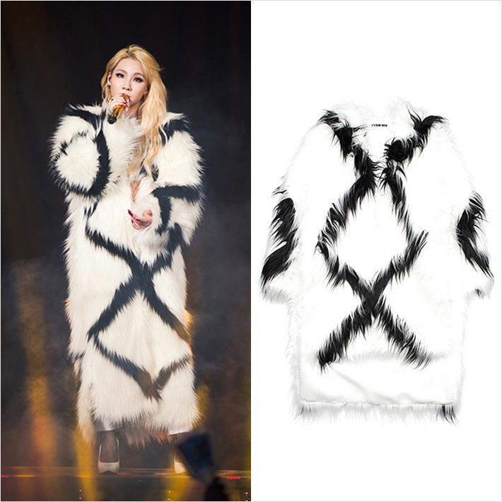 2NE1、CL着用!韓国発の人気ブランド『HYEIN SEO』ファーコート