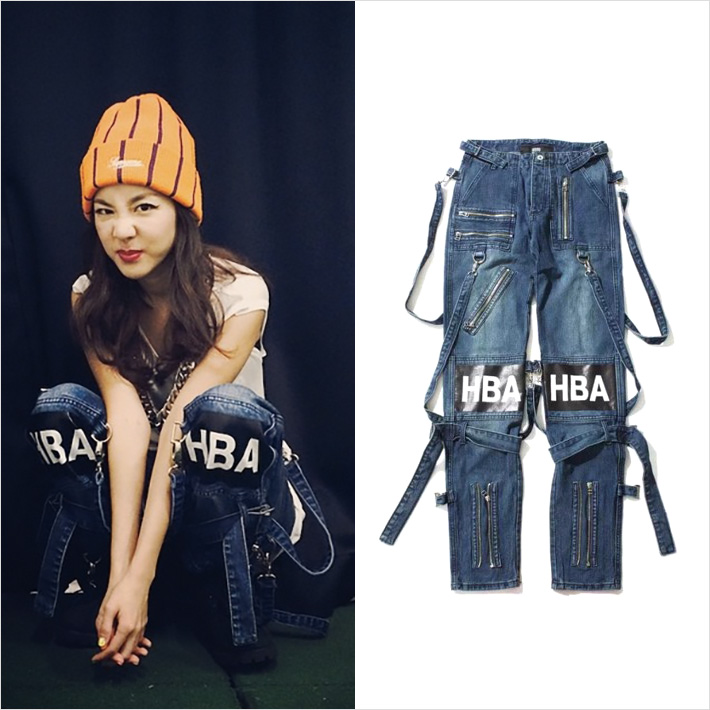2NE1 DARA x HOOD BY AIR