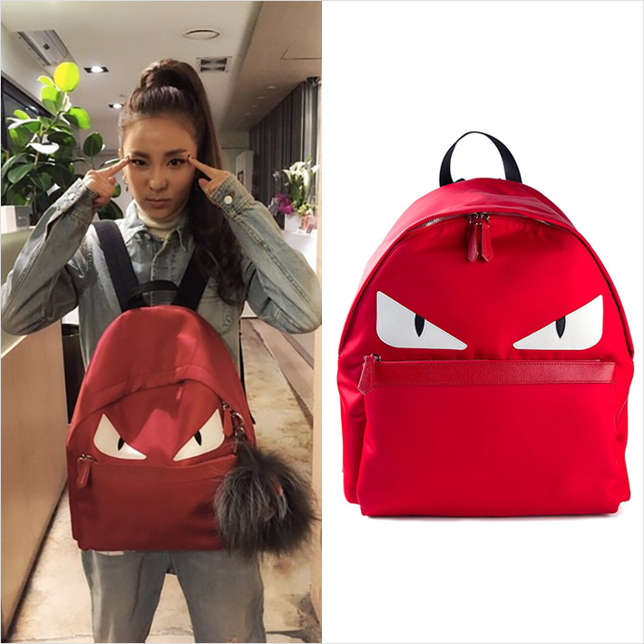 2NE1 DARA x FENDI BUGS BAG
