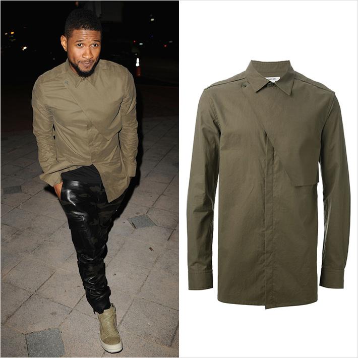 Usher x ヘルムート・ラング