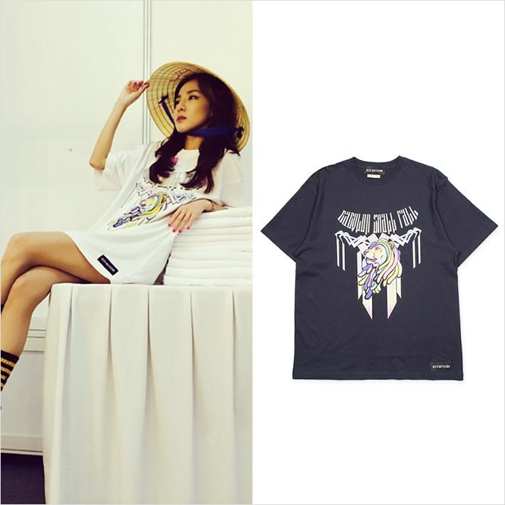 ロンドンストリートファッションで注目される「ALEX MATTSSON」、2NE1「ダラ」もTシャツを着用