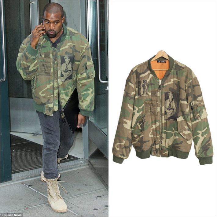 Kanye West x RAF SIMONS