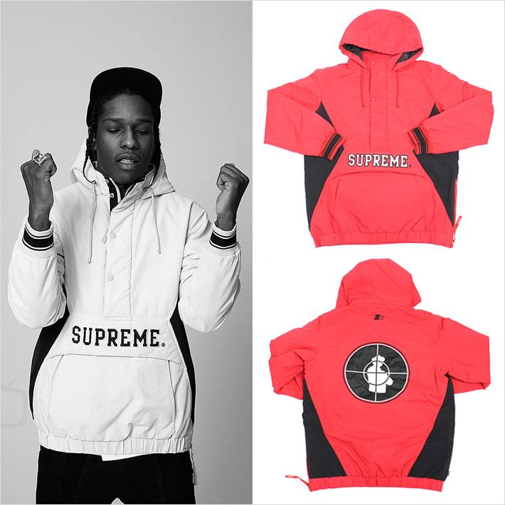 ASAP Rocky x Supreme x Public Enemy x Starter