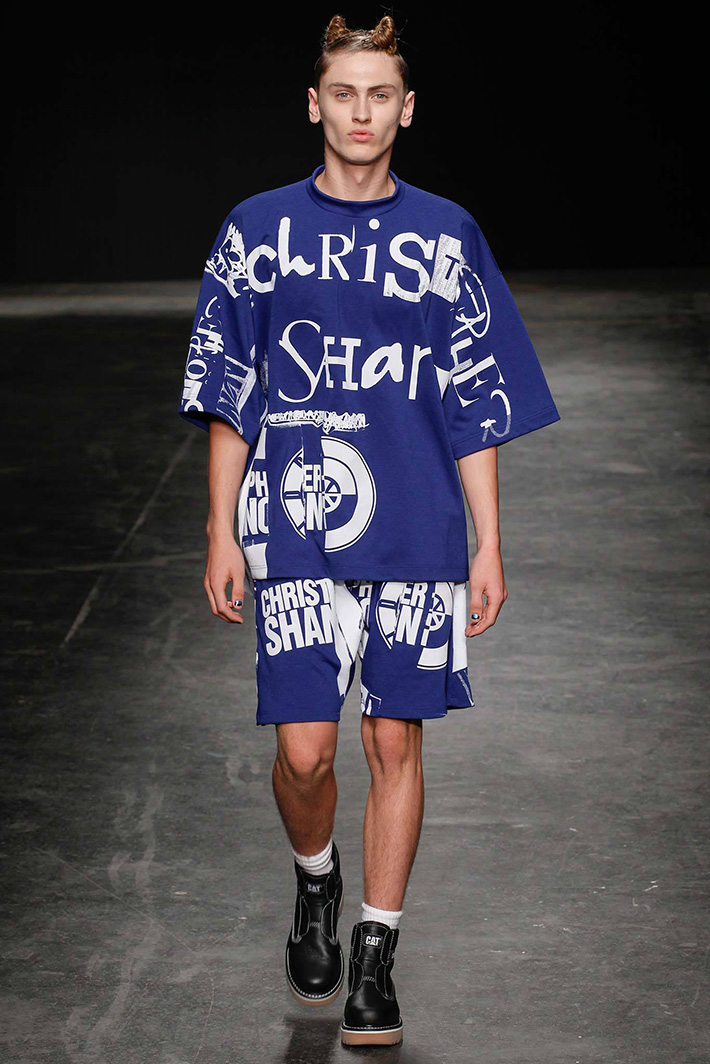 CHRISTOPHER SHANNON 2015S/S