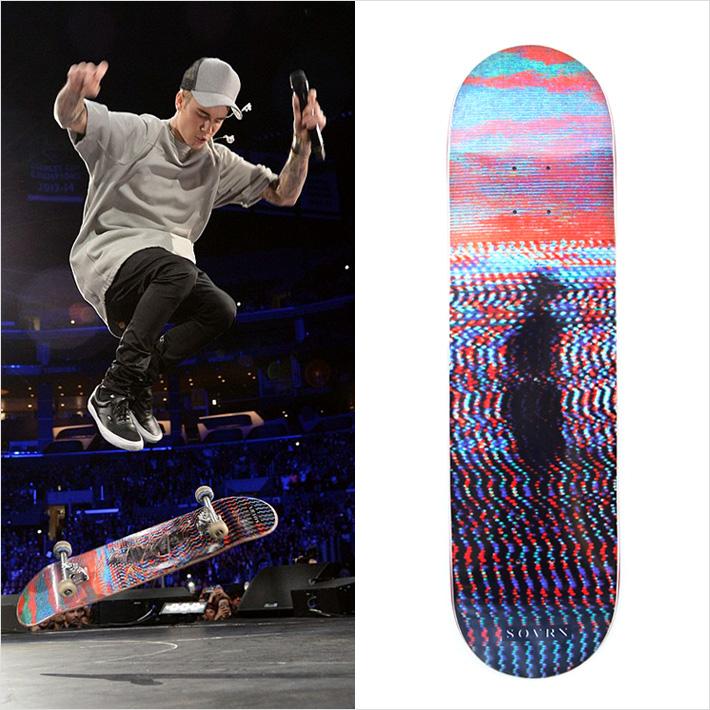 ジャスティン・ビーバー愛用のスケートボードブランド「 S O V R N 」