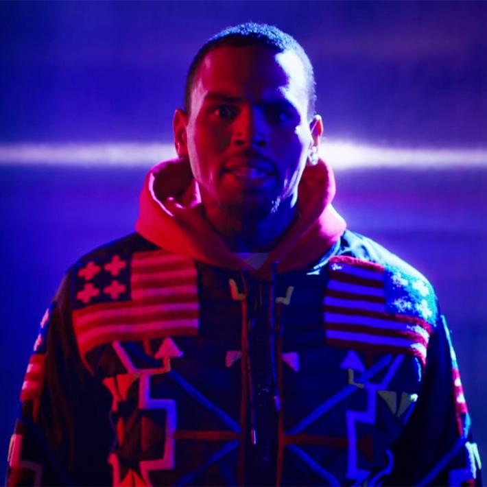 Chris Brown Fine By Me x KTZ Jacket