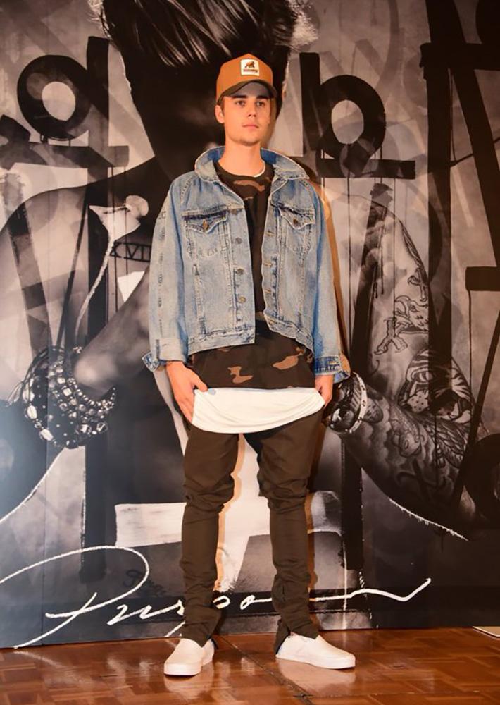 Justin Bieber x YEEZY Season 1