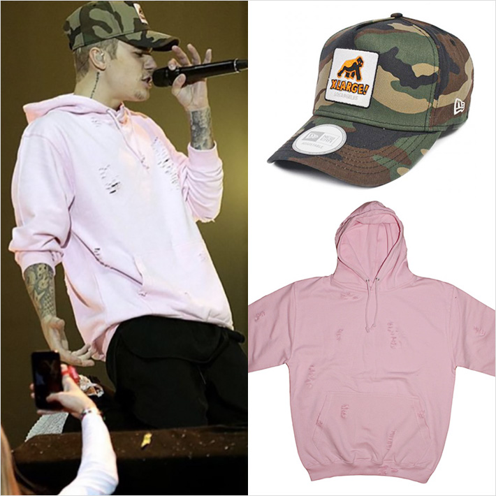Justin Bieber x LMDN Hoodie