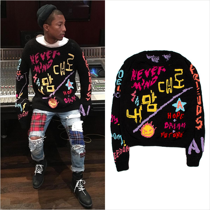 Pharrell Williams x 99%IS-