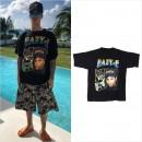 ジャスティン・ビーバー、「Eazy-E」のヴィンテージTシャツを着用してバカンスを満喫中