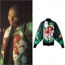 クリス・ブラウン『Love More ft. Nicki Minaj』のミュージックビデオで『JUUN.J(ジュン・ジー)』のボンバーブルゾンを着用