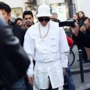 G-DRAGON、パリファッションウィークでJUUN. Jのスウェットを着用